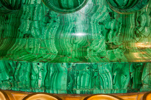 Malachite pilar in St. Isaac's Cathedral