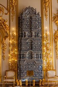 Ornate Wall Heater in Catherine's Palace