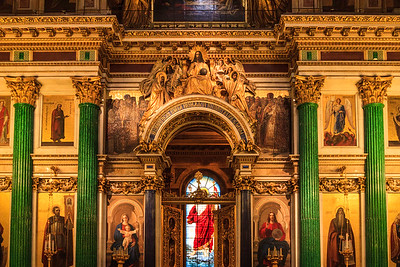 Main Iconostasis in St. Isaac's Cathedral
