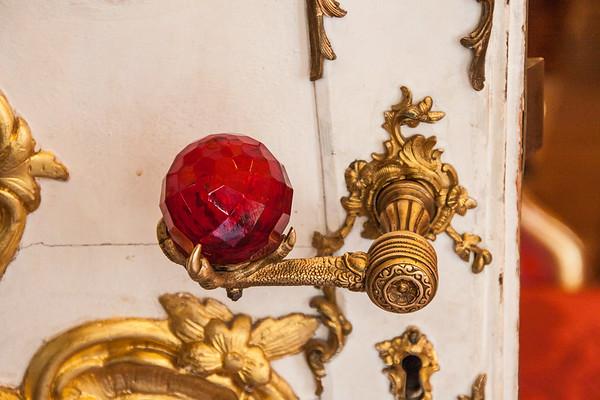 Fancy Door Handle in the Hermitage Museum