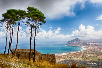 View of the beach, Sicily