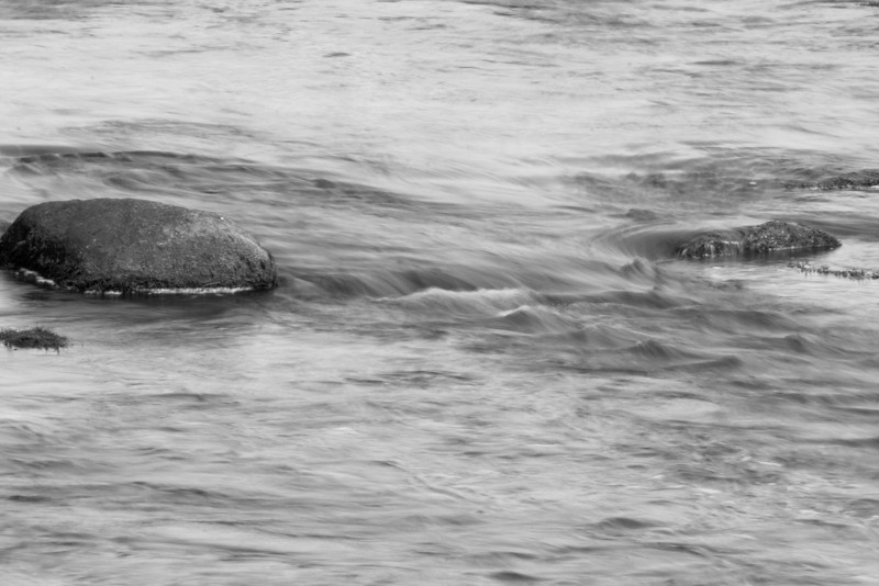 River Blur Grayscale (1 of 1)