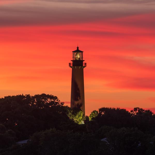 Sunset at the Jupiter Lighthouse