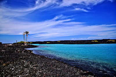 Kiholo Bay, Big Island, Hawaii