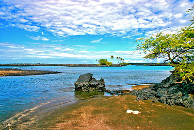 Kiholo Bay - Big Island, Hawaii