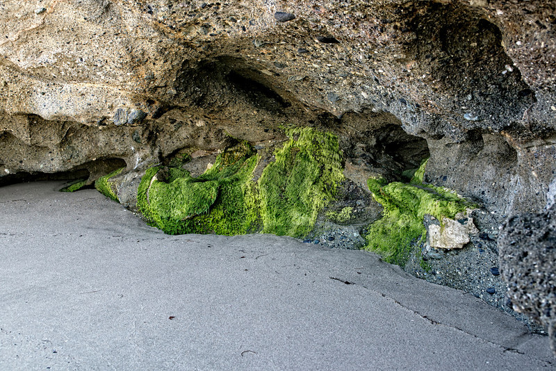 Beach Caves made by Waves