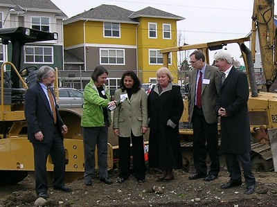 YWCA Groundbreaking 11-28-2007 No4