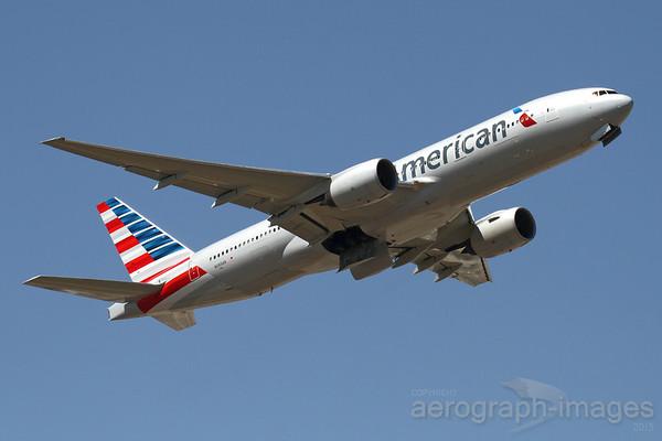 Reg: N789AN Operator: American Airlines Type:  Boeing 777-223ER C/n: 30252 / 285 Location:  London - Heathrow (LHR / EGLL) - UK        Photo Date: 19 July 2013 Photo ID: 1300761