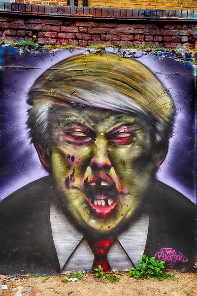 Portrayed Trump Dis