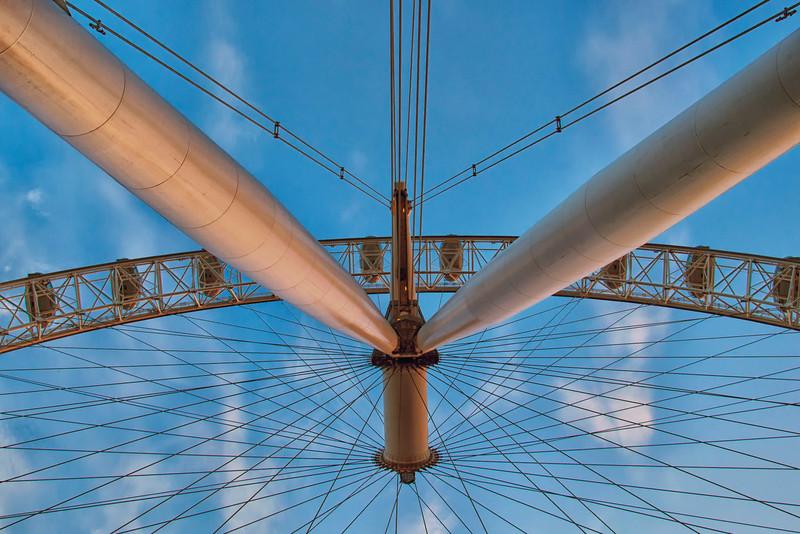Under London Eye!