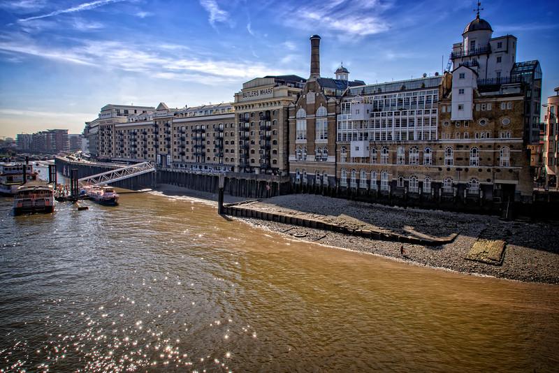 Butlers Wharf London UK