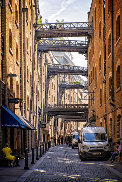 Cobble Street Behind Butlers Wharf