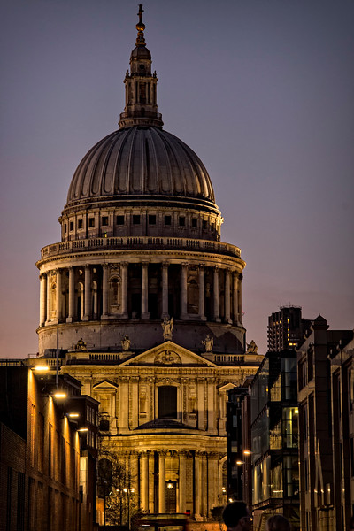Sunset St Paul's
