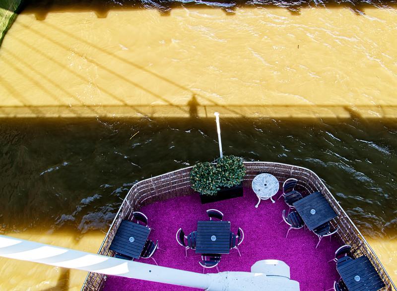 Purple Bridge Rug