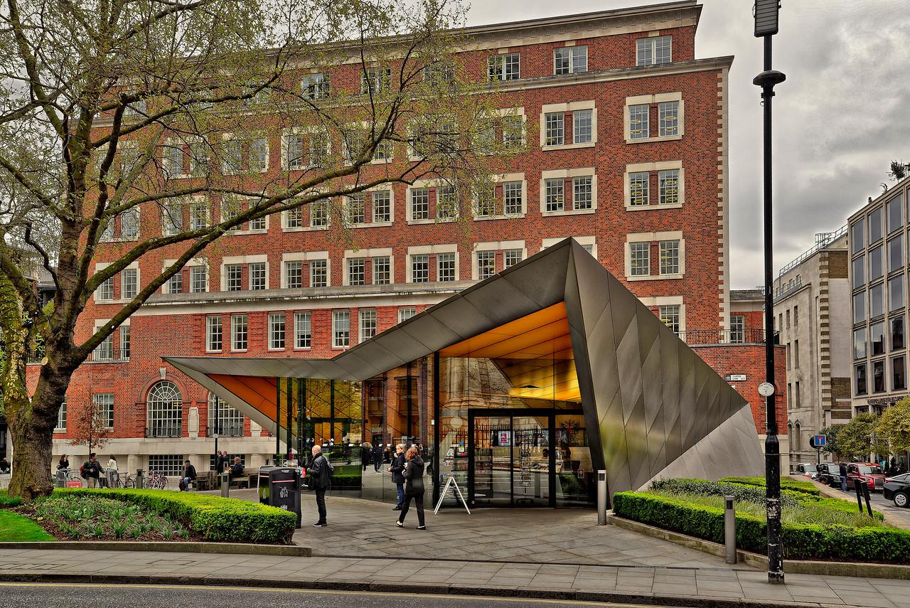 London UK - Visitors center St Paul's