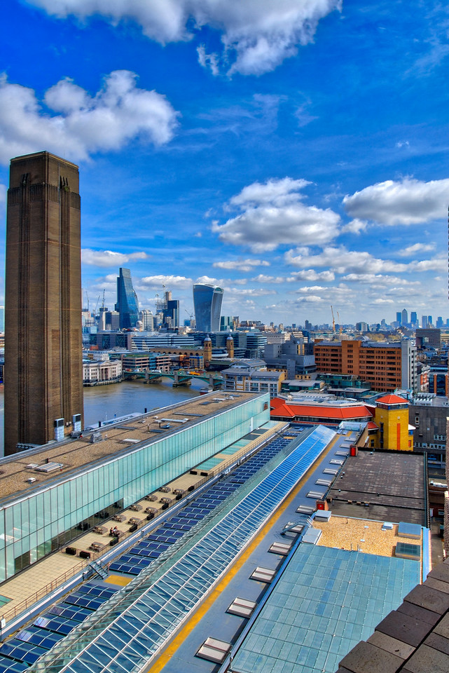 Tate Modern Obeservation deck view Northeast