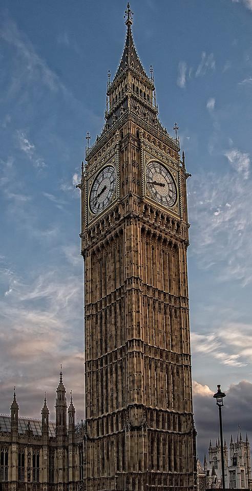Big Ben Blue Sky!