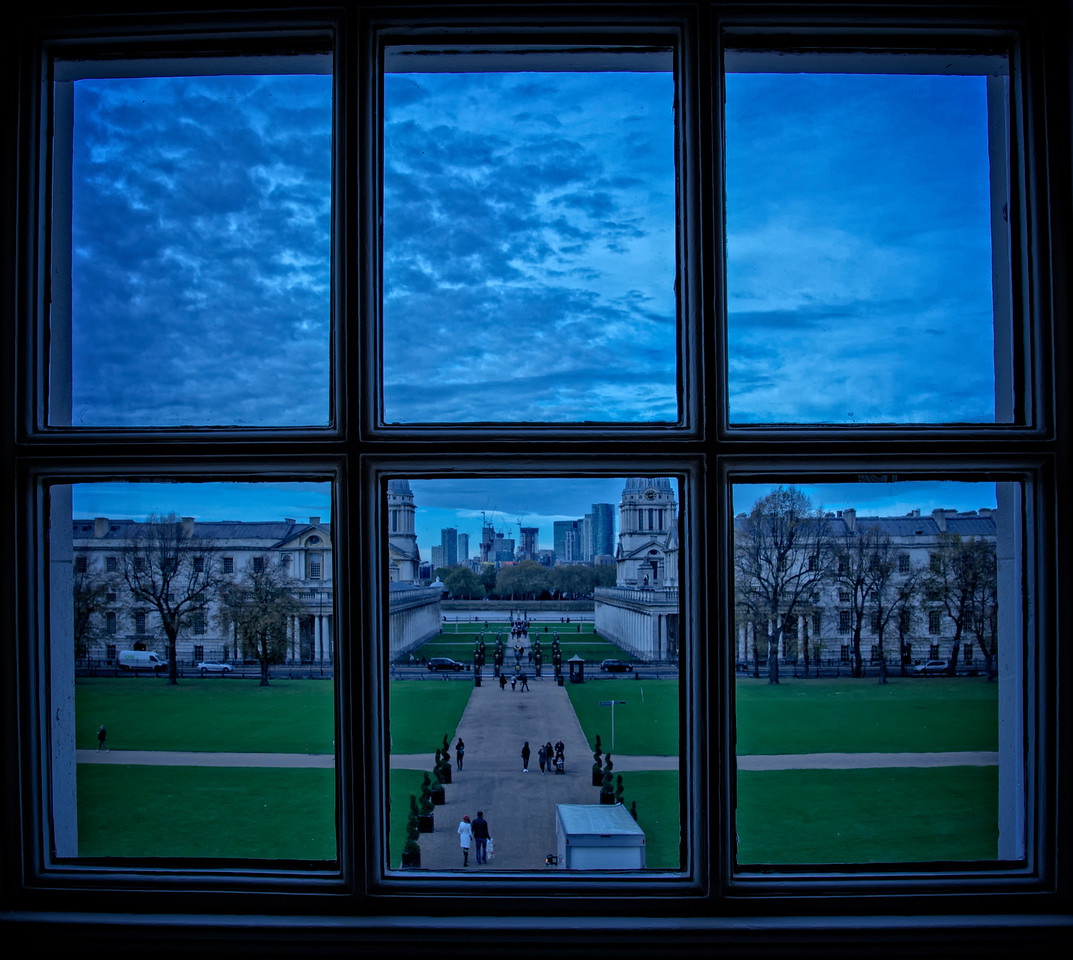 View from the Queens House of Royal Navy College