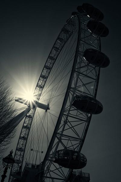 London Eye Sunburst