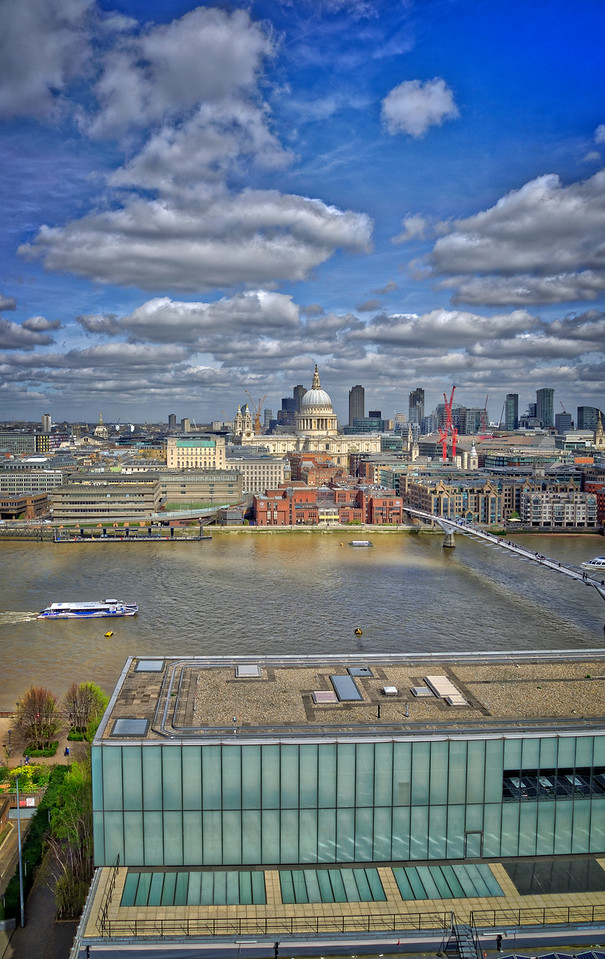 Tate View toward St Paul's