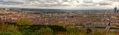 Lyon France pano 3 slight north east view