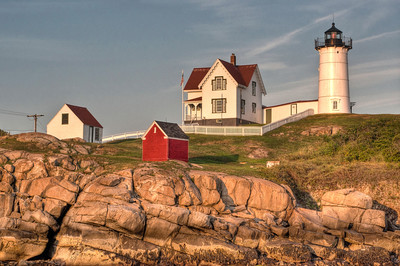 Cape Neddick Lighthouse in Evening Light #2