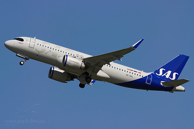 """Reg: SE-ROL Operator: Scandinavian Airlines Type: Airbus A320-251Neo  C/n: 9352  Location: Manchester (MAN / EGCC) - UK   """"SAS540"""" departing 23R to Copenhagen ona glorious morning in the North West     Photo Date: 31 July 2020 Photo ID: 20...."""