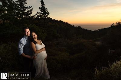 Karyna & Ben - Maternity Session on Mt Tamalpais