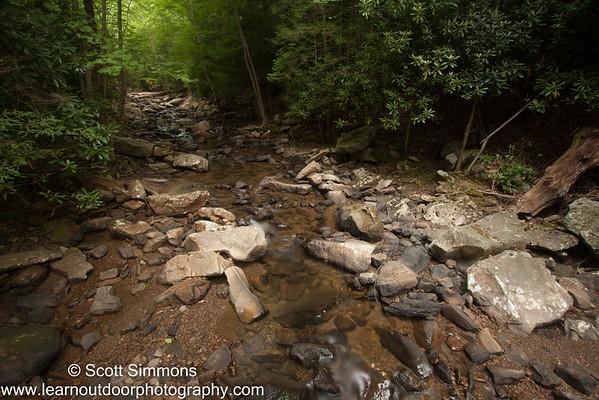 Cascade on Lostland Run