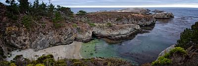 Monterey Point Lobos Pano