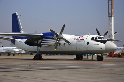 RA-46690 - Polet Flight, Antonov An-24RV (c/n 47309901)  Smart An-24 parked on the flight line at Moscow-Domodedovo. 06 September 2008