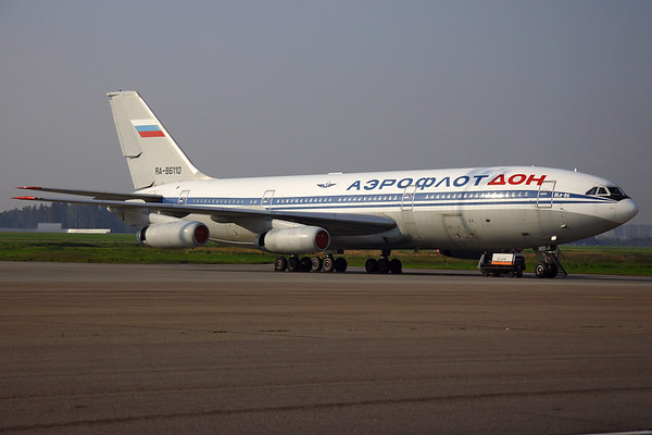 RA-86110 - Aeroflot-Don, Ilyushin IL-86 (c/n 51483208078)  Once the widebody workhorse of the Russian fleets, the IL-86 has since been retired from service. This Aeroflot-Don example was scrapped at Moscow-Sheremetyevo, where it is seen here in early morning sunlight. 07 September 2008