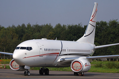 VP-CLR - LUK Aviation, Boeing 737-7EM BBJ (c/n 34865 l/n 1865)  Operated for Lukoil, this BBJ is seen parked at it's home base of Moscow Sheremtyevo. 07 September 2008