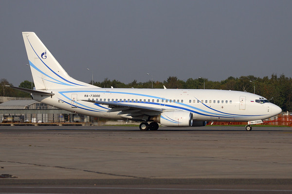 RA-73000 - Gazpromavia, Boeing 737-76N (c/n 28630 l/n 664)  Operated by Russian energy giant Gazprom, pictured taxiing for departure at Moscow's Vnukovo airport. 06 September 2008
