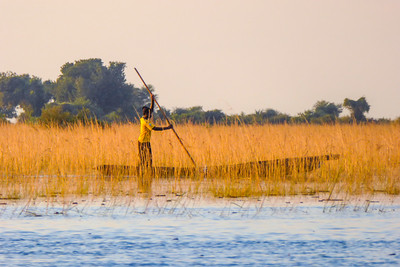 Crossing the Chobe