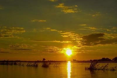 Sunset over Namibia 1