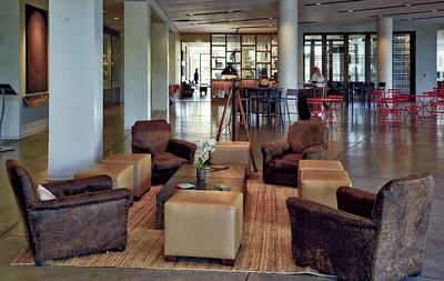 Inside Culinary institute Copia Napa