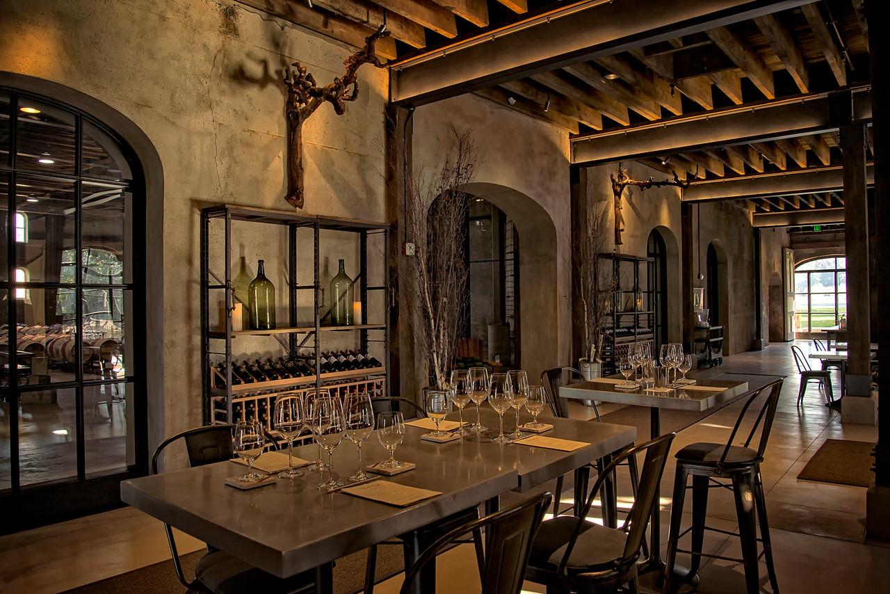 Charles Krug tasting room