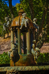 Beautiful Fountain Patina