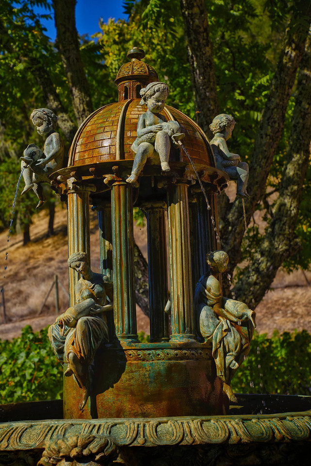 Beautiful Fountain Patina