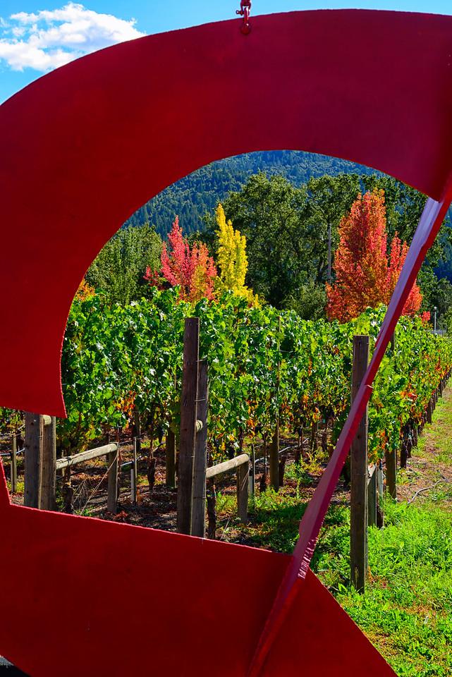 Fall Vineyard Art