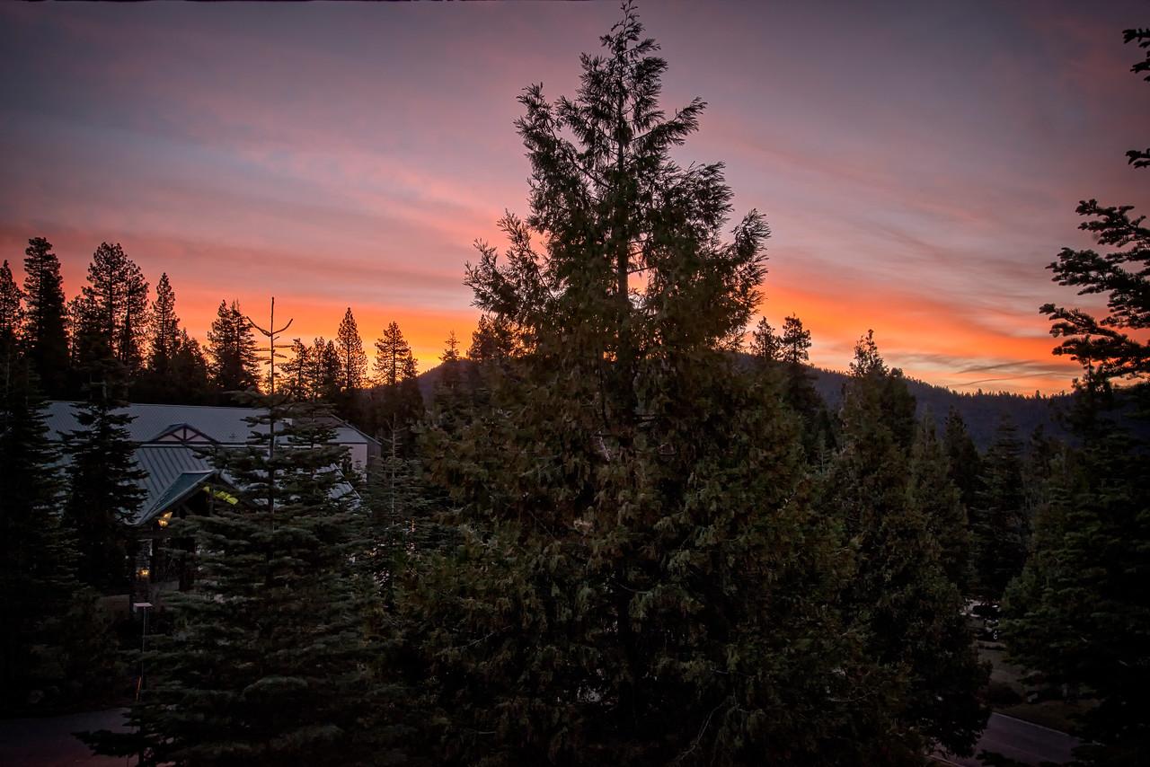 Break of Dawn over Tenaya