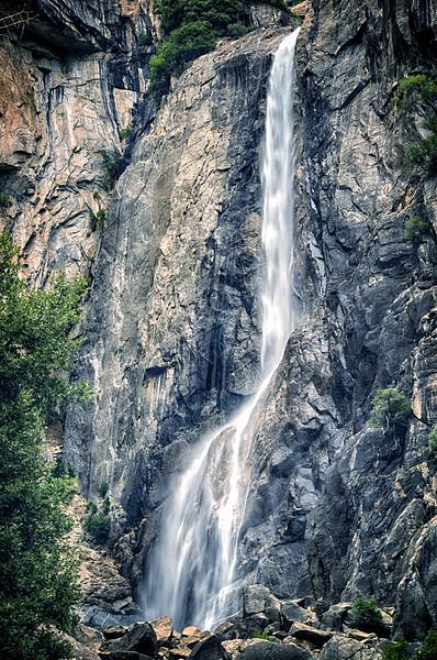 Lower Yosemite Falls Portrait