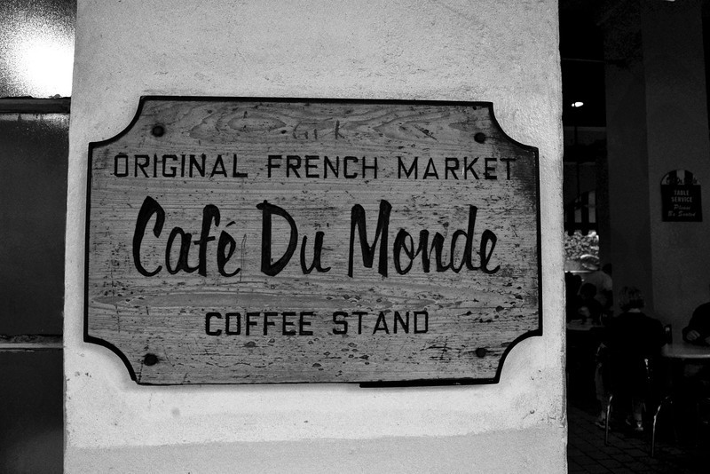 Great coffee and Beignets