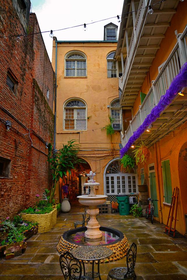 Artist courtyard