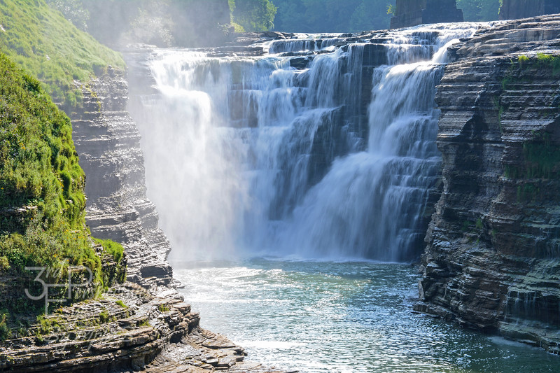 Upper Falls - Letchworth State Park, New York - USA