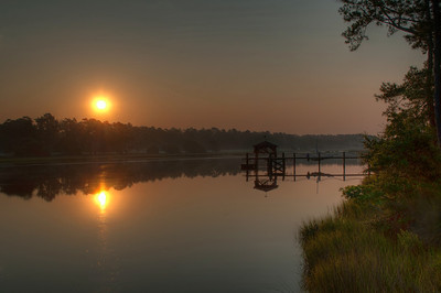 Sunrise on the Calabash River