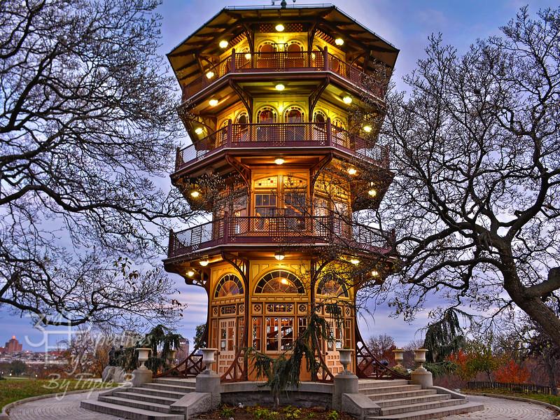 City Park Pagoda - Baltimore, Maryland - USA
