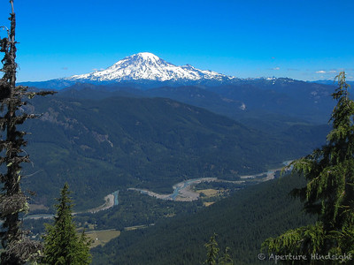 Rainier Over Cowitz Valley