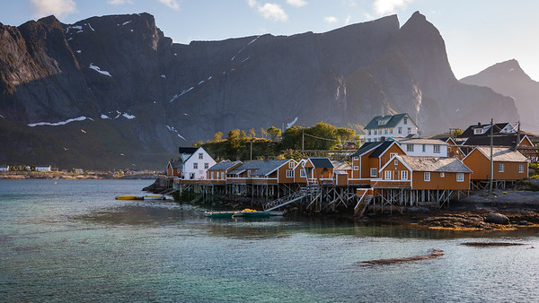 Dockside in Lofoten